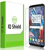 IQ Shield Screen Protector Compatible with OnePlus 5T Anti-Bubble Clear Film