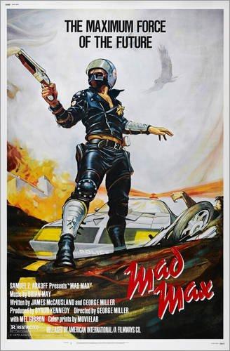 Poster 60 x 90 cm: Mad Max von Everett Collection - hochwertiger Kunstdruck, neues Kunstposter