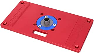 Easy to Operate Router Table Insert Plate Trimming Machine Flip Board, Save Labor Carpentry Work for Router Planer