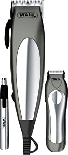 Wahl 79305-3658 Deluxe Groom Pro 21 Piece Complete Hair Clipper Cutting Kit, 220 Volts