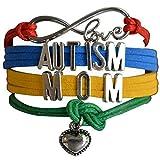 qws Bracelet de sensibilisation à l'autisme, bijou de sensi