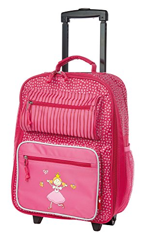 sigikid, Mädchen, Kindergepäck Trolley Prinzessin, Pinky Queeny, 40x30x17, Pink, 24543