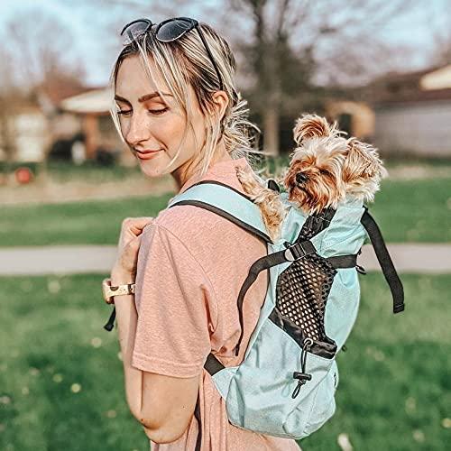 K9 Sport Sack AIR 2 - Dog Carrier Backpack, Pet Carrier (S, Gray)