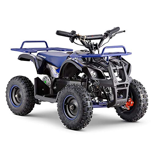 Funbikes Ranger 800w Blue Kids Electric Mini Quad Bike - Unspecified