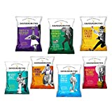 SAVOURSMITHS Taster Pack, Contains Selection of Luxury English Potato Crisps, 280 g, 7-Count