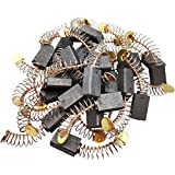 Sipery 30Pcs Motor Carbon Brush 5x8x13mm Angle Grinder Carbon Brushes 50# Replacement Generic Electric Motor Power Tool Part
