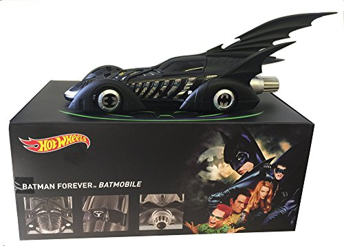 1:18 SCALE 1995 BATMAN FOREVER BATMOBILE BY HOT WHEELS by Mattel