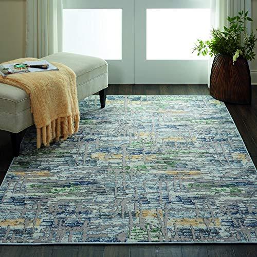 Marca de Amazon - Movian Archar, alfombra rectangular, 182,9 de largo x 121,9 cm de ancho (diseño geométrico)