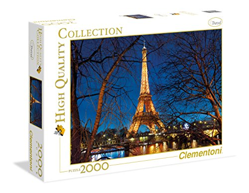 Clementoni- Collection: Paris Los Pingüinos De Madagascar Puzzle, 2000 Piezas, Multicolor (32554)