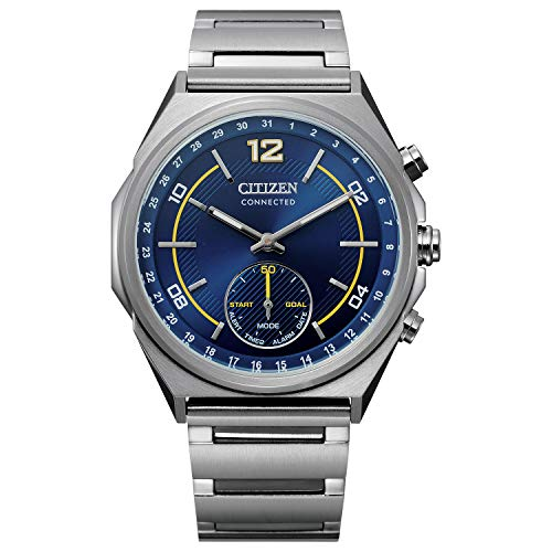 Citizen Men's Eco-Drive Analogue-Digital Watch with Stainless Steel Strap CX0000-55L