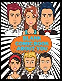 Blank Comic Book About You: Draw your own Story 8.5x11 110 Pages