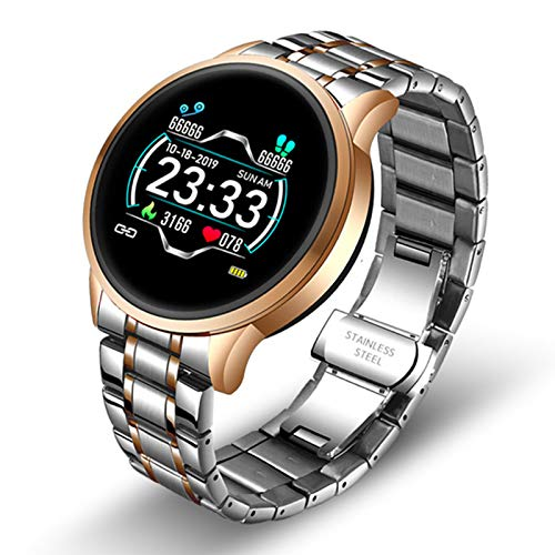 LDJ 2021 Hombres Y Mujeres Smart Watch Bluetooth Music Call Sports Smart Watch IP67 Impermeable para Android iOS,B