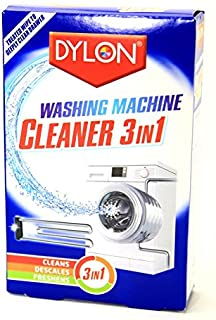 Dylon Washing Machine Cleaner 3 in 1 Cleans, Descales & Freshens