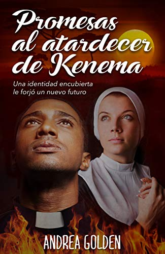 Portada del libro Promesas al atardecer de Kenema de Andrea Golden