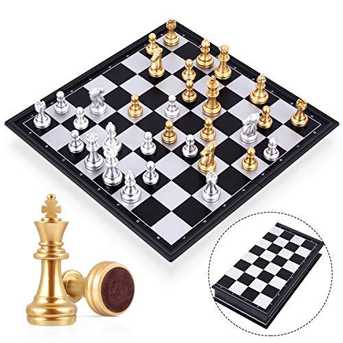 Noble d/'échecs jeu d/'échecs junior 42 x 42 cm 42x42 bois nouveau
