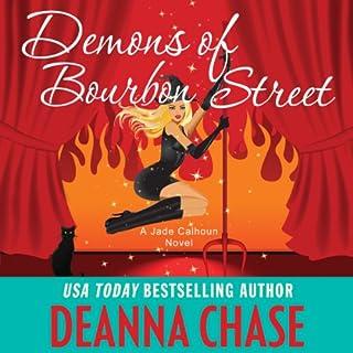 Demons of Bourbon Street audiobook cover art