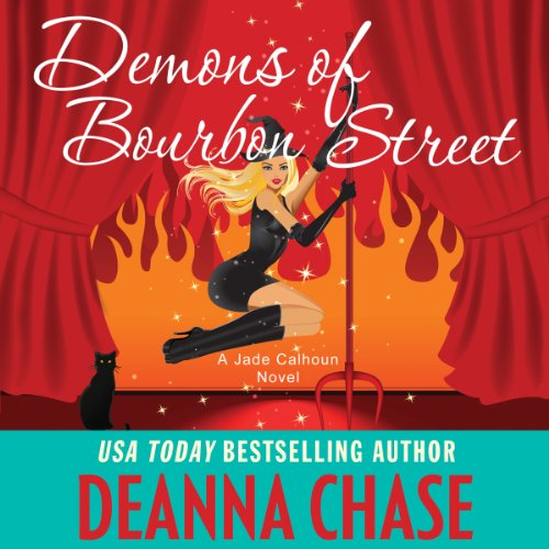 Demons of Bourbon Street audiobook cover art