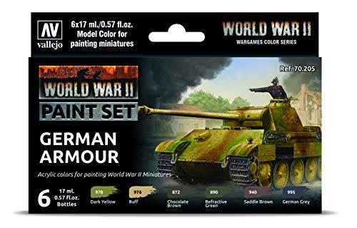Vallejo 070205 - Juego de Colores para maqueta de la WWII