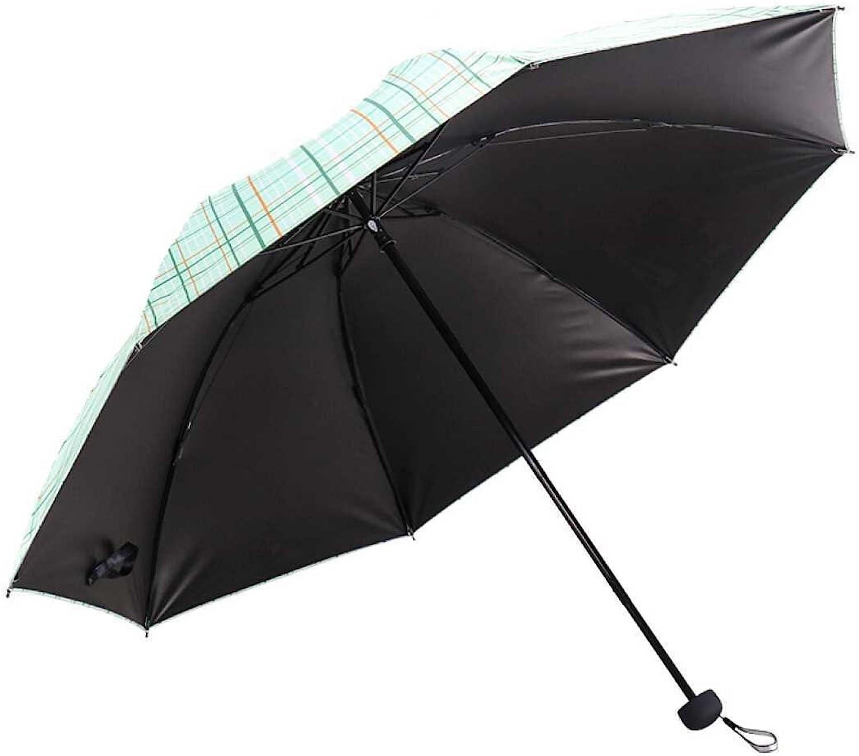 SFSYDDYClash Cloth Lattices Edges Seventy Percent Off Business Umbrella