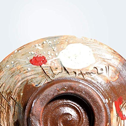 GodsowncountryIND Plato con texto – Hecho en Shigaraki/Japón | Serie de vajilla | Plato de cerámica hecho a mano para servir platos | Amor hecho a mano