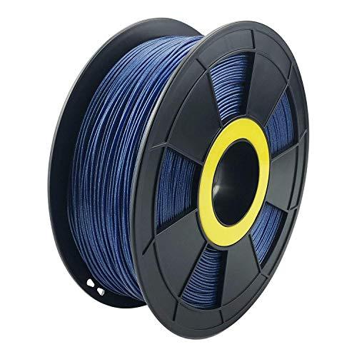 ZIRO 3D Printer Filament PLA-Diamond Series 1.75 1KG(2.2lbs), Dimensional Accuracy +/- 0.05mm,blue