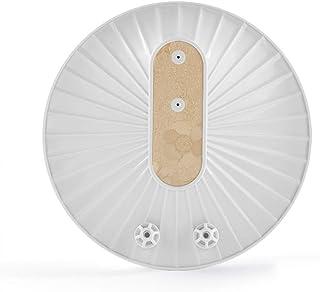 Xu-dishwasher Hogar Ultra pequeño lavavajillas, hortalizas Fruit portátil Lavadora, Placa Limpiador for Taza del Plato eficiente de la energía de Ruido Diseño de Baja (Color : White+Gold)