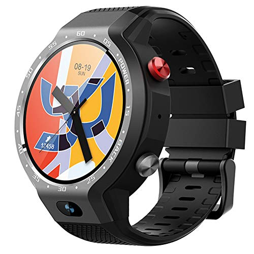 Great Features Of JASZW 4G Smart Watch - Fitness Tracker for Men - Android 7.0 /Heart Rate Detection...