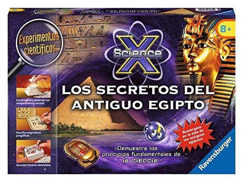 Ravensburger - Science X midi: los secretos del Antiguo Egipto (18980 9)