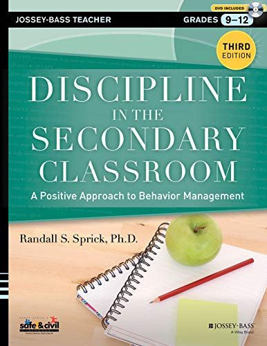Compare Textbook Prices for Discipline in the Secondary Classroom, with DVD: A Positive Approach to Behavior Management 3 Edition ISBN 9781118450871 by Sprick, Randall S.