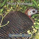 Wild Alabama Calendar 2021