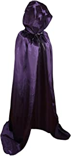 Colorful House Unisex Full Length Hooded Cape Christmas Costume Cloak