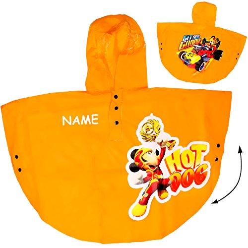 alles-meine.de GmbH - Trinkbecher - Disney - Mic.. alles-meine.de GmbH Regencape / Regenponcho - Disney - Mickey Mouse - GELB - incl. Name - Gr. 98 - 104 - Circa 3 bis 4 Jahre - für Kinder - Mädchen & Jungen / Regenjacke / Re..