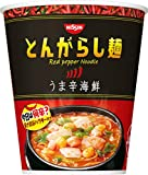 とんがらし麺 うま辛海鮮 64g ×12食