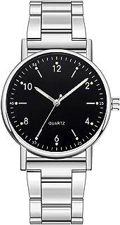 Orologi Da Donna Orologi da donna d'argento Moda donna orologio al quarzo di fascia alta orologio in acciaio inox quadrant...