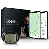 Kippy Evo - Collare GPS per Cani e Gatti con Localizzatore e Rilevatore dell Attività e dello Stato di Salute - Accessori Cani e Gatti - con Batteria a Lunga Durata e Torcia LED - Verde