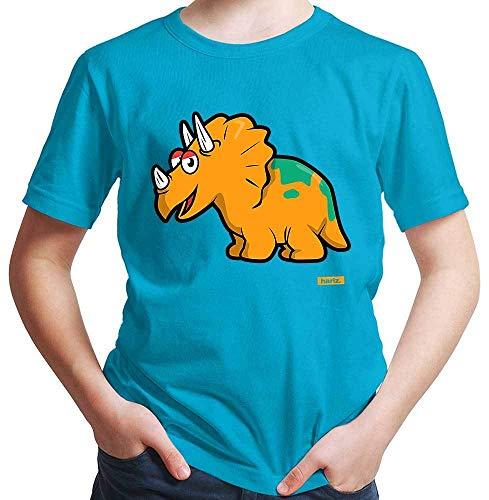 HARIZ Camiseta para niño Triceratops Dinosaurio T-Rex animales incluye tarjeta de regalo
