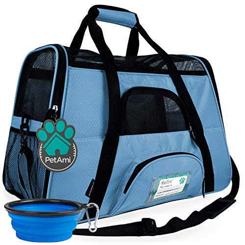 PetAmi Premium Airline Approved Soft-Sided Pet Travel Carrier   Ideal for Small...