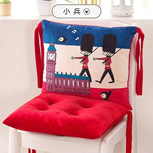 feilai Cojín para silla de gato de dibujos animados de moda, cojines decorativos para el hogar, cojines decorativos, cojines de asiento de coche, sillas de cocina (color: 21 x bing)