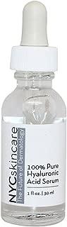 NYCskincare The Future of Dermatology - 100% Pure Hyaluronic Acid Serum