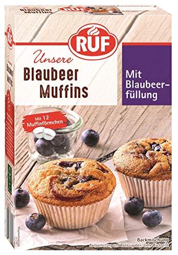 RUF Blaubeer Muffins, 8er Pack (8 x 325 g)