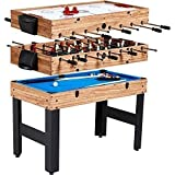 MD Sports New Multi-Game Combo Table (48', 3 in 1)