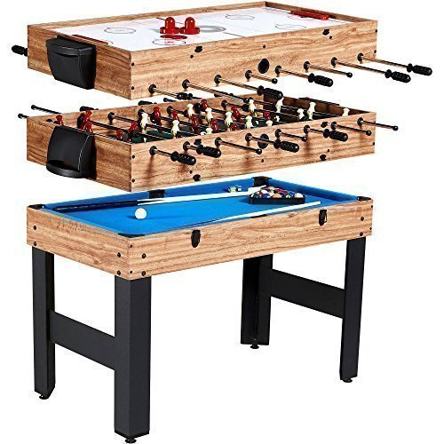 """MD Sports New Multi-Game Combo Table (48"""", 3 in 1)"""