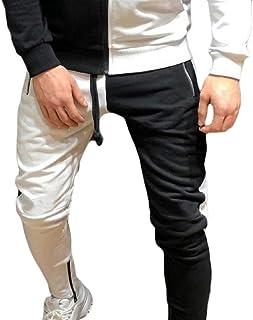 Generic Mens Slim Fit Elastic Waist Drawstring Jogger Sweatpants