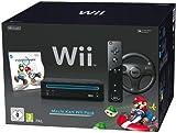 Nintendo Wii 'Mario Kart Pack' - Konsole inkl. Mario Kart, Wii Wheel, Remote Plus Controller, schwarz - [Edizione: Germania]