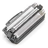 vhbw Doble hoja de corte compatible con Remington Intercept RS6721, RS6930 máquina de afeitar - con marco, negro/plateado