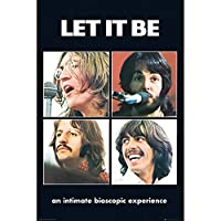 BEATLES ビートルズ (LET IT BE 50周年記念) - Let it Be/ポスター 【公式/オフィシャル】