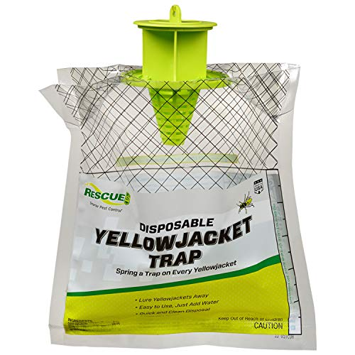 RESCUE! Disposable Summer Yellowjacket Trap - Eastern Time Zones