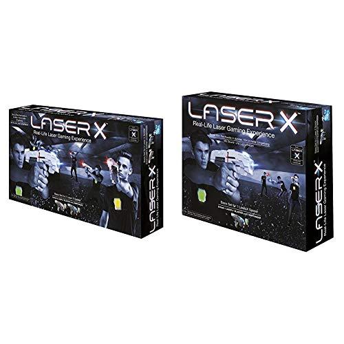 Beluga Spielwaren GmbH 79001 Laser X Double Beluga Spielwaren 79001-Laser, Weiß & Laser X Single