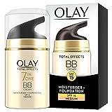 Olay - Total effects, toque de maxfacto base fluida, factor de protección solar 15 t - tono medio - 50 ml