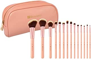 BH Cosmetics Chic 14 Piece Brush Set with Cosmetic Case